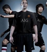 apresentação do novo uniforme do Manchester Utd