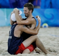 Beijing Olympics Beach Volleyball Men