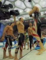 Beijing Olympics Swimming Mens Relays